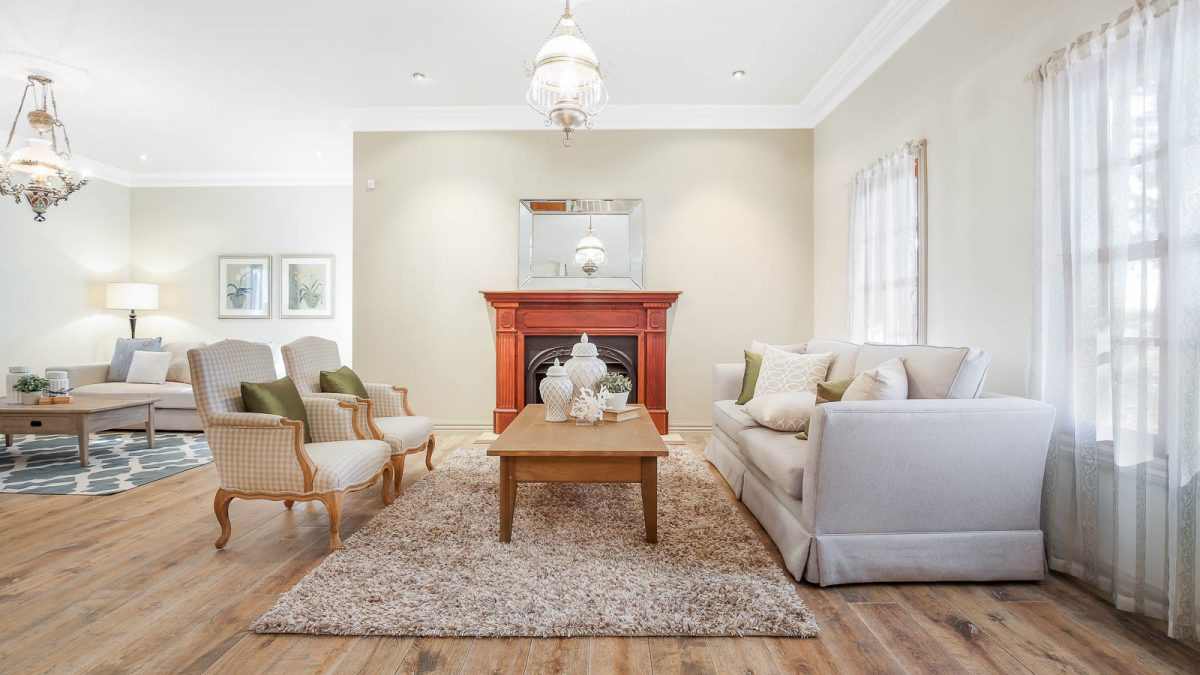 Real Estate Lounge room photography